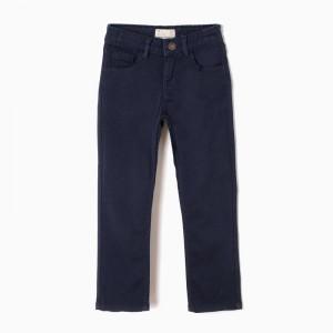 Pantalón 5 bolsillos azul...