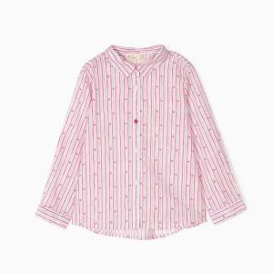 Camisa Rayas y corazones