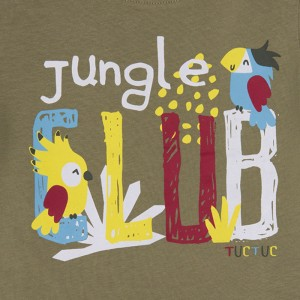 Camiseta punto verde T Jungle