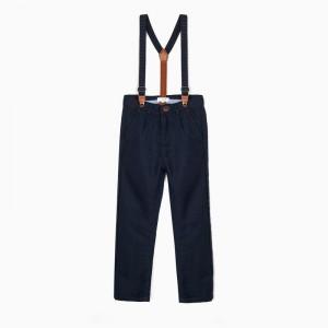Pantalón tirantes azul oscuro