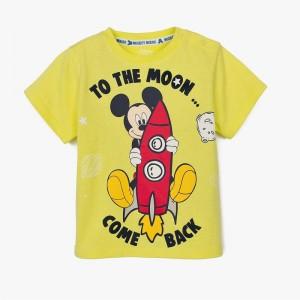 Camiseta Mickey Moon...