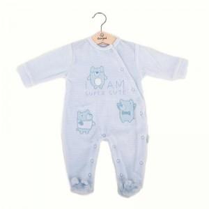 Pelele Pijama Celeste